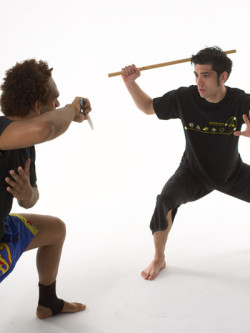 Martial Arts Weapon Training at Anderson's Martial Arts
